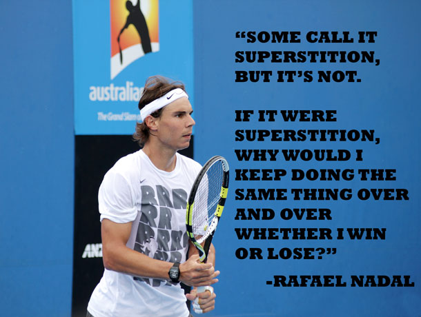 How Rafael Nadal S Strange Habits Can Improve Your Poker Game Poker Mind Coach