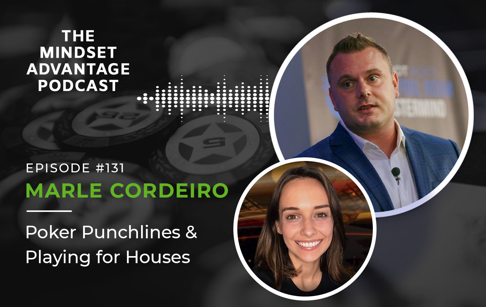 Episode 131 - Marle Cordeiro - Poker Punchlines and Playing for Houses